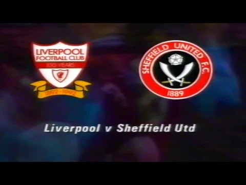 LIVERPOOL FC V SHEFFIELD UNITED FC - 2 1 - 19TH AUGUST 1992 - ANFIELD - LIVERPOOL