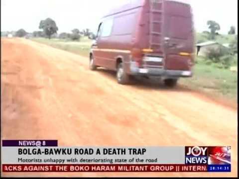 Bolga Bawku Road A Death Trap - Joy News @ 8 (25-9-14)