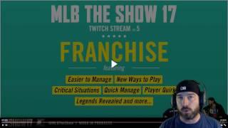MLB The Show 17 Franchise Livestream Breakdown!