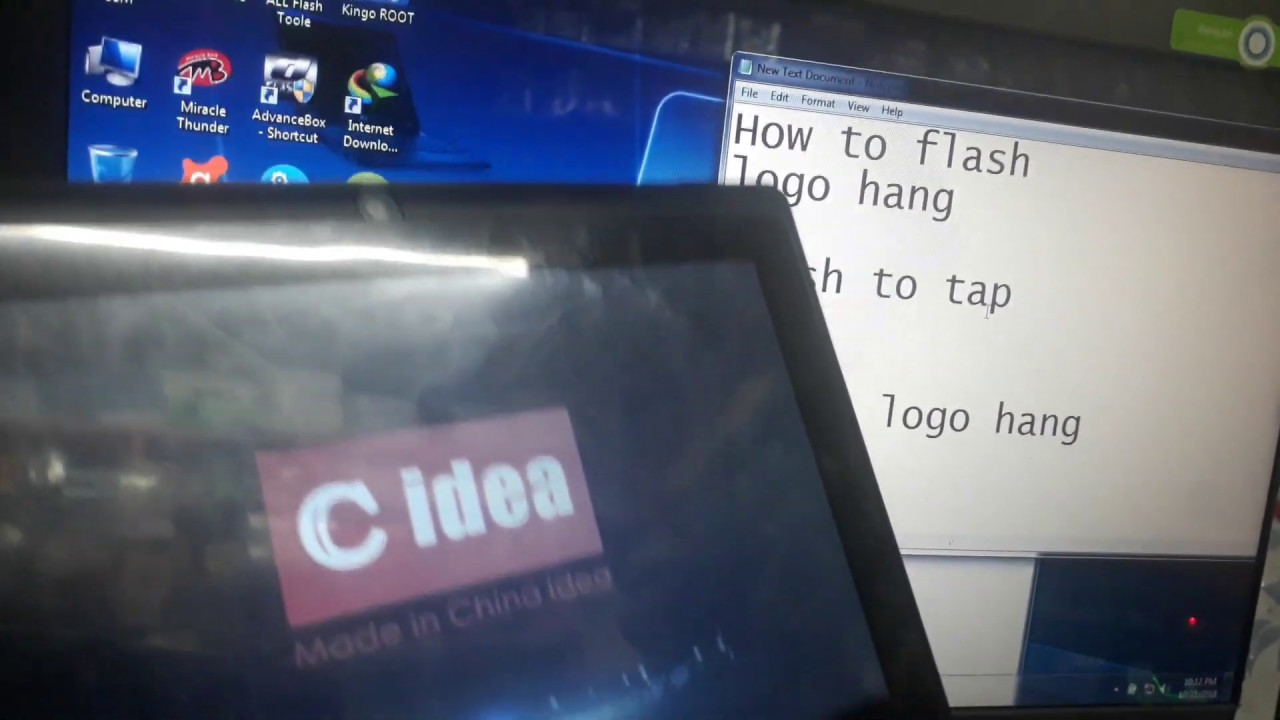 C idea CM10 Tab Flashing & Flash File MT6572 6 1