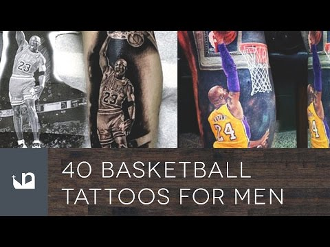 40 Basketball Tattoos For Men