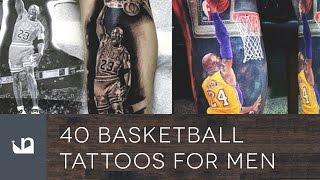 40 Basketball Tattoos For Men