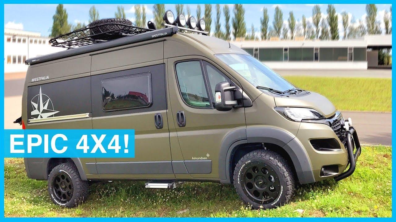 Westfalia Off Road 4x4 Adventure Mobile Van Tour Youtube