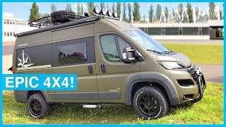 Westfalia Off Road 4x4 Adventure Mobile - VAN TOUR!