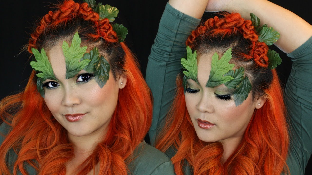 poison ivy hair style poison hair amp makeup costume look for 2354 | maxresdefault
