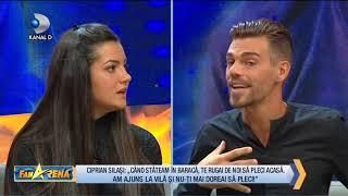 FanArena (08.11.) - Naomi este deranjata de limbajul lui Ciprian! Si-a jignit sotia sau nu? Partea 2