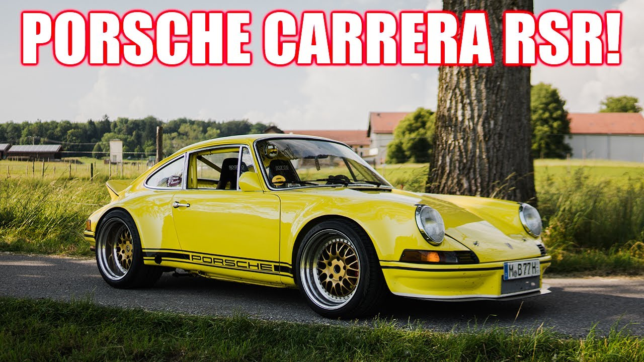 PORSCHE 911 CARRERA RSR 1971 I Das perfekte Tracktool für die Straße!