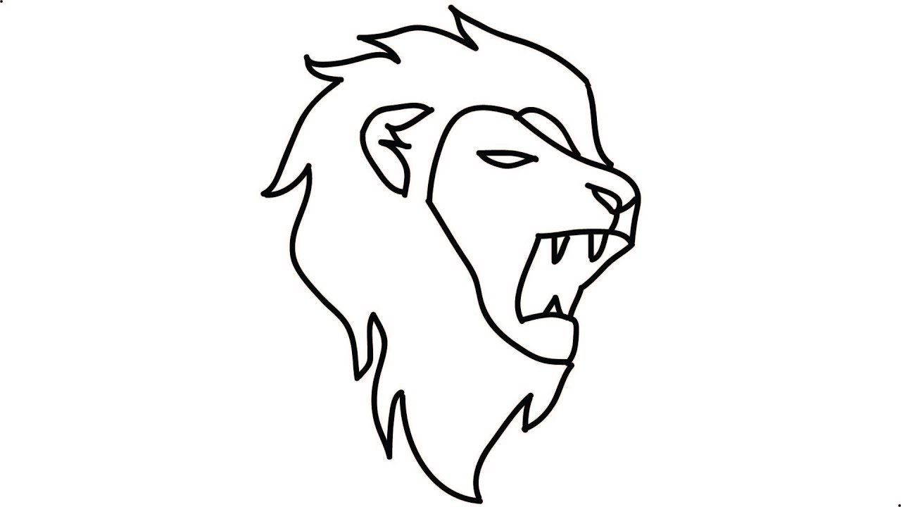 How To Draw A Lion Step By Step Draw A Lion Head Lion Into A Cartoon