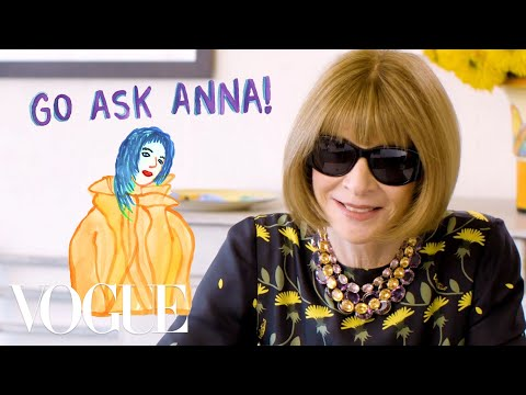 Anna Wintour on Billie Eilish, Cara Delevingne, and What She Would Most Like to See in Spring 2020. http://bit.ly/2GPkyb3