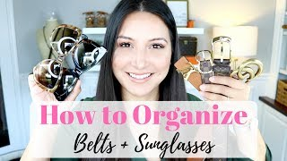 BEST WAY TO ORGANIZE - Belts +…