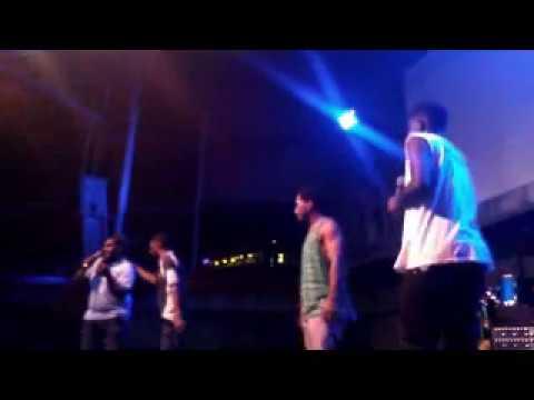 All night Long on stage stussycrew ft Leeroy x JayBLaque