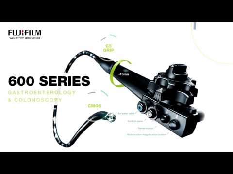 Overview of endoscopic products by Fujifilm