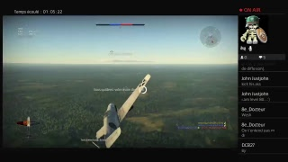 Live war thunder ps4 fr