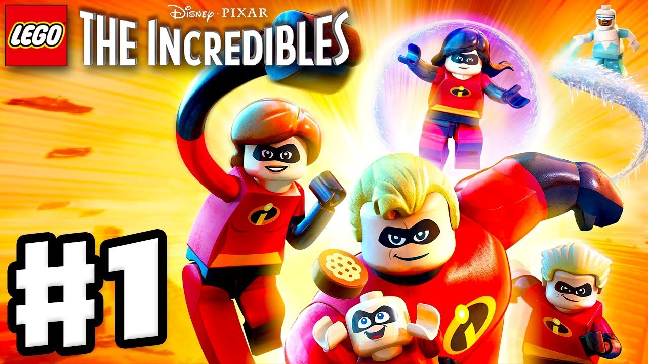 Download LEGO The Incredibles - Gameplay Walkthrough Part 1 - Under-Mined Intro!