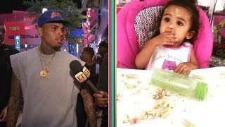 EXCLUSIVE - Chris Brown on Daughter Royalty: