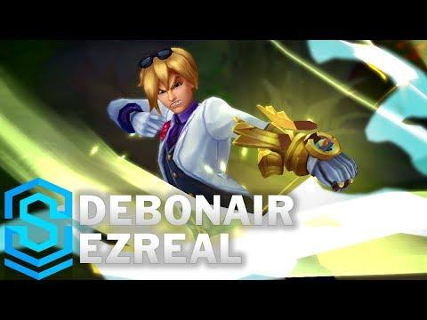 Debonair Ezreal (2018) Skin Spotlight - Pre-Release - League of Legends