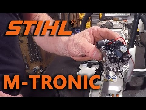 Stihl M-Tronic Carburetor Teardown
