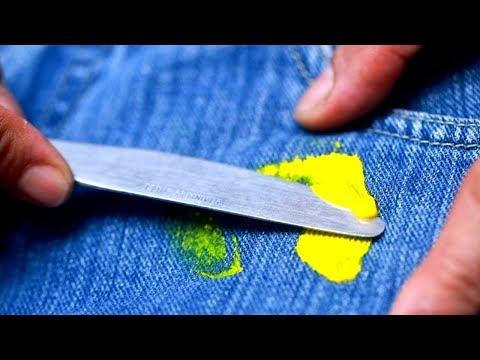 Как отстирать пластилин с одежды в домашних условиях