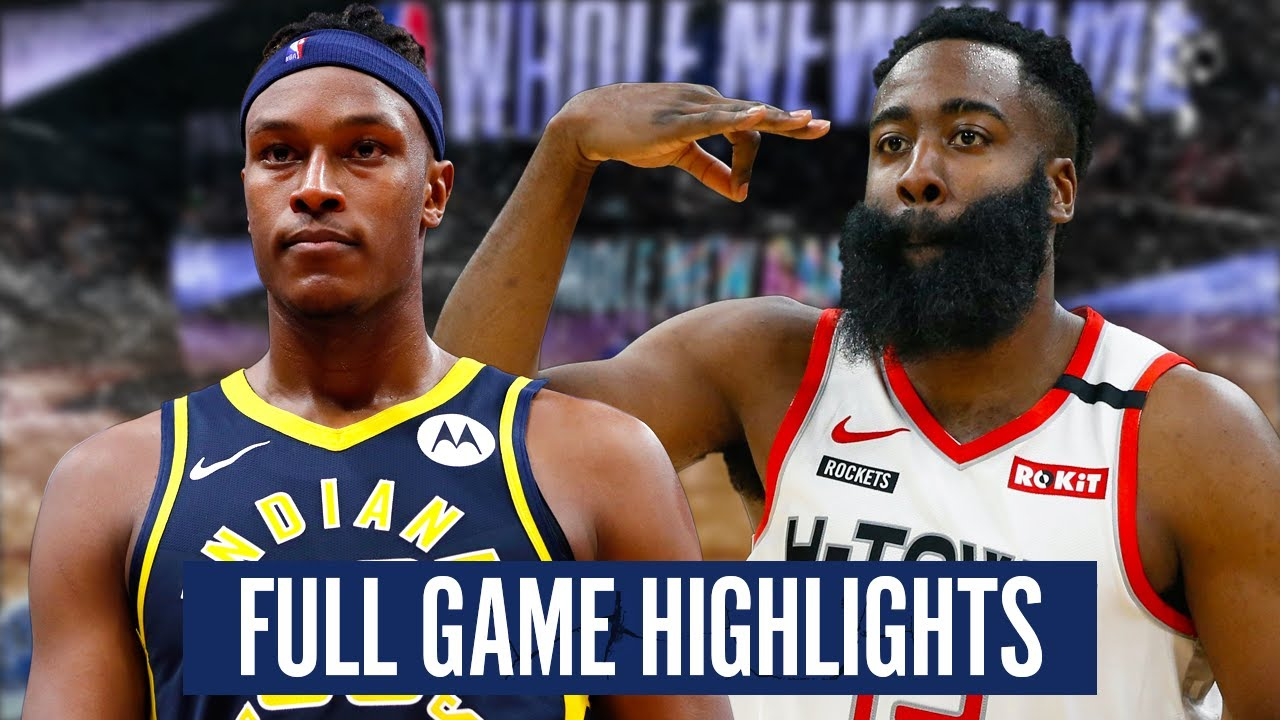 Download INDIANA PACERS at HOUSTON ROCKETS - FULL GAME HIGHLIGHTS | 2019-20 NBA Season