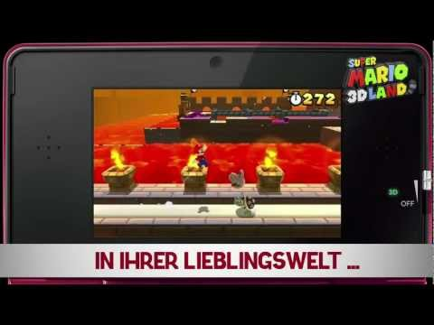 Super Mario 3D Land Trailer NEW Overview/Gameplay Trailer