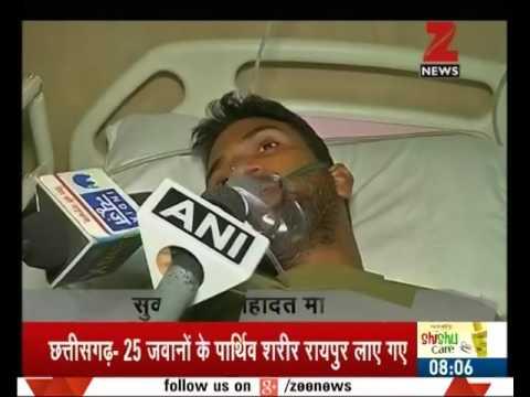 Naxal attack in Sukma: Rajnath Singh to review security condition in Chhattisgarh
