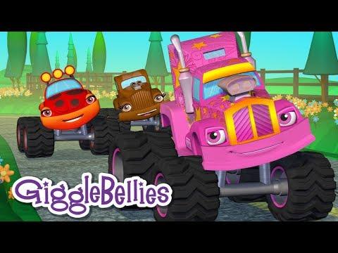 Wheels On The Bus..... errrr Truck! | Nursery Rhymes | GiggleBellies