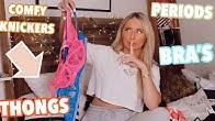 Let's talk about underwear...😭😱 Lounge underwear haul!! Ad
