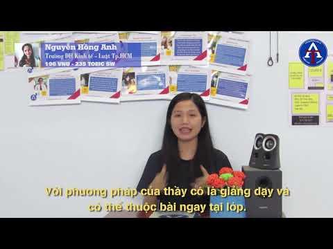 [CẢM NHẬN HỌC VIÊN - VNU-EPT 196 & TOEIC SW 235] - Bạn Nguyễn Hồng Anh - ĐH Kinh Tế - Luật