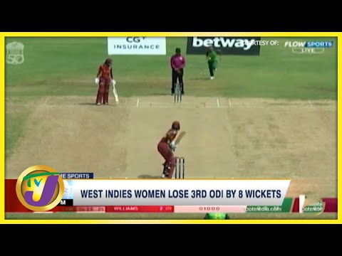West Indies Women Lose 3rd ODI by 8 Wickets