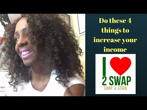Do these 4 things to increase your income