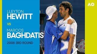 AO Classics: Lleyton Hewitt v Marcos Baghdatis (2008 3R)