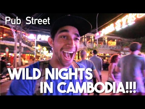 One Night to Party in Siem Reap (Pub Street Nightlife, Cambodia)