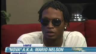 Blind Rapper NovaCain channel 14 news interview.