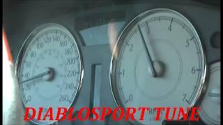 Chrysler 300C HEMI Predator tune VS stock tune !!!