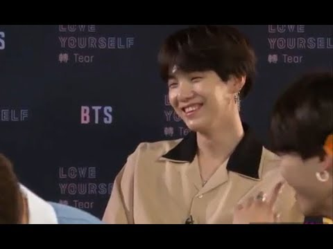 Proof that Yoongi can see the future