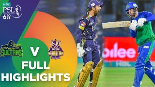 Full Highlights | Multan Sultans vs Quetta Gladiators | Match 14 | HBL PSL 6 | MG2T