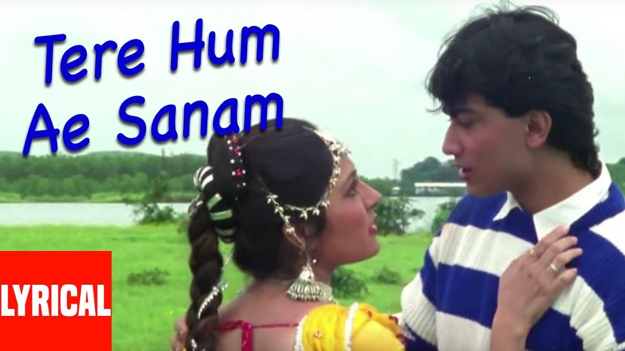 Download Tere Hum Ae Sanam Lyrical Video | Jeena Teri Gali Mein | Anuradha Paudwal, Kumar Sanu