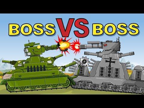 """""""Monster Tank GT44 VS Avenger T5"""" Cartoons about tanks"""