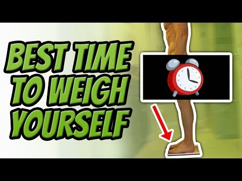 How To Properly Weigh Yourself On A Weight Scale (WITHOUT GOING CRAZY)