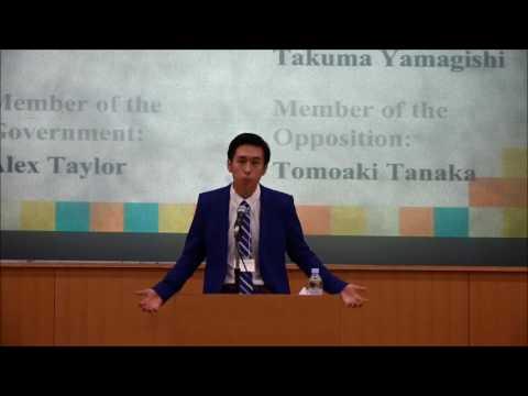 Grand Final: ESUJ University Debate Competition 2016