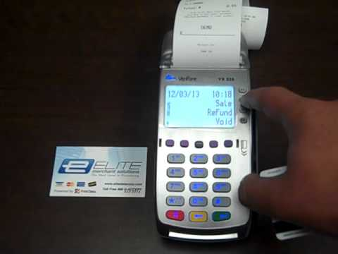 Terminal How To: Verifone VX520