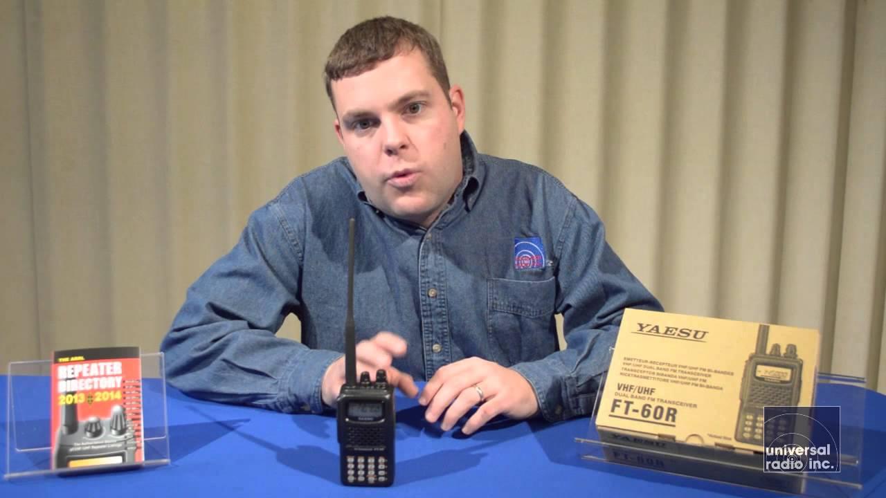 universal radio presents the yaesu ft-60 amateur radio ht - youtube