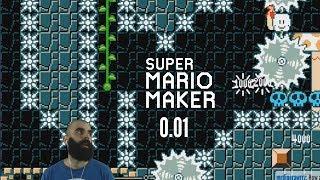 My CRAZIEST Level Upload Ever  (0.01) | Super Mario Maker Precision Level | Château Emilia