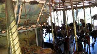 a ride on the griffith park merry go round with stinson band organ