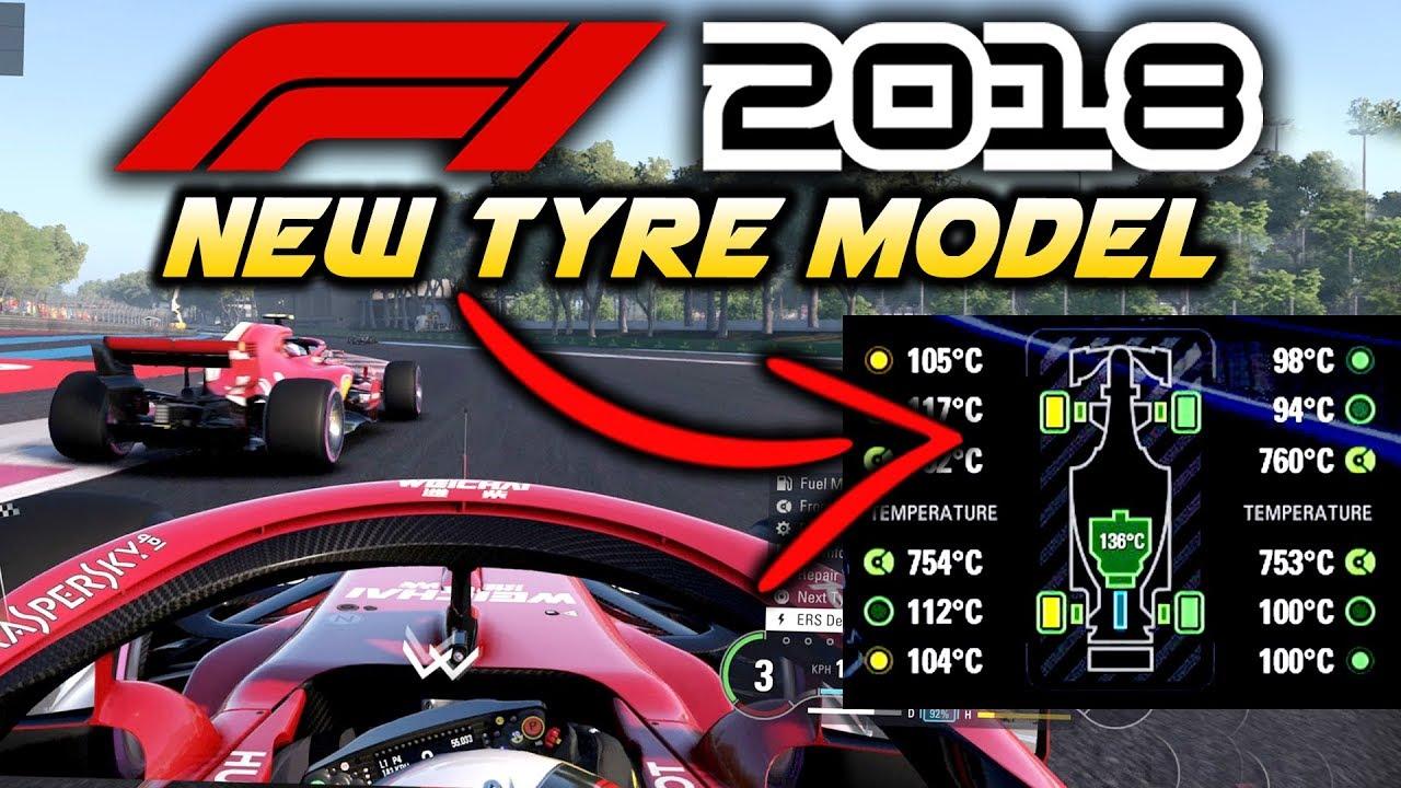 F1 2018 Game: NEW TYRE MODEL GAMEPLAY & HANDLING PHYSICS TALK (F1 2018 Gameplay) - YouTube