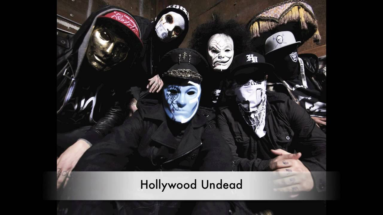Hollywood Undead's New Masks and Unmasked - YouTube