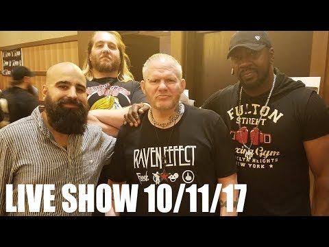 Stevie Ray LIVE SHOW 10.11.17 Fan Q&A, Halloween Havoc & More!