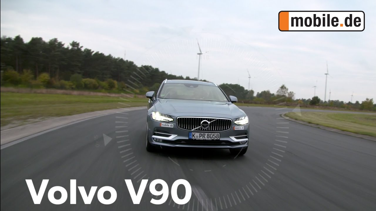auto test volvo v90 1 generation ab 2016 youtube. Black Bedroom Furniture Sets. Home Design Ideas