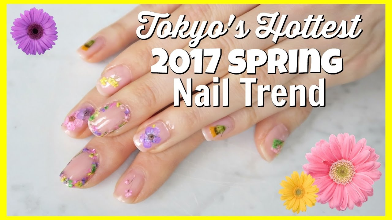 DIY Pressed Flower Nails - YouTube