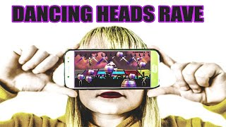DANCING HEADS | RAVE #snoopdogg #covidparty #dancing